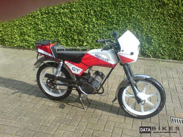 1986 Hercules  Prima Gt Motorcycle Motor-assisted Bicycle/Small Moped photo