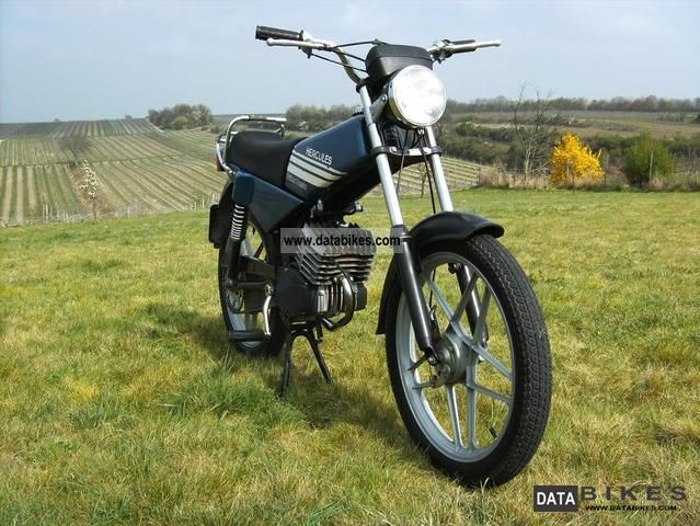 1981 Hercules  Presto Prima 3 speed moped Motorcycle Motor-assisted Bicycle/Small Moped photo