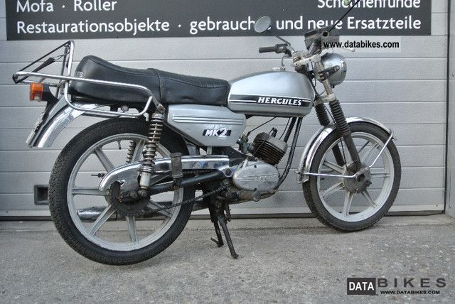 1980 Hercules  MK2 RS Mokickk moped RMC KS RL GT Flory Motorcycle Motor-assisted Bicycle/Small Moped photo