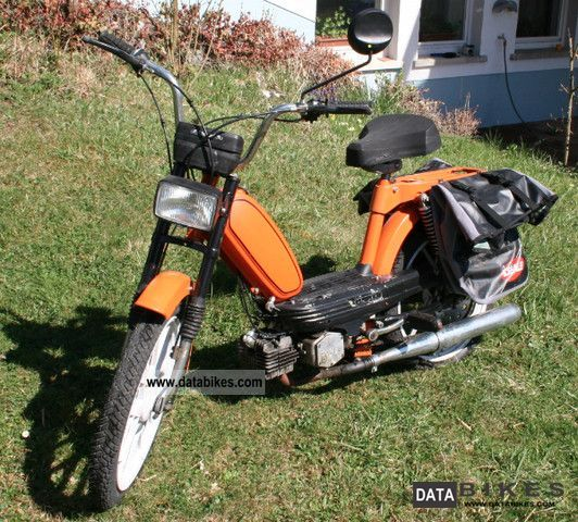 1977 Hercules  M4 Motorcycle Motor-assisted Bicycle/Small Moped photo