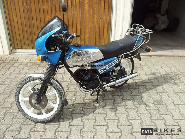 1986 Hercules  KX-5 Motorcycle Motor-assisted Bicycle/Small Moped photo