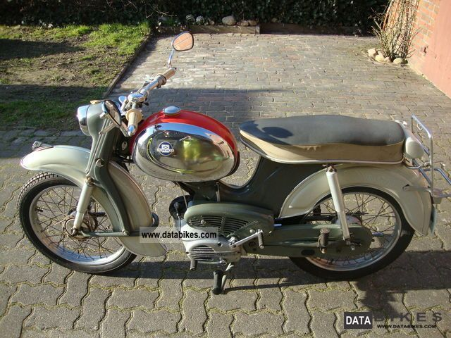 Hercules  MKF 220 Fußgangschaltung 1963 Vintage, Classic and Old Bikes photo