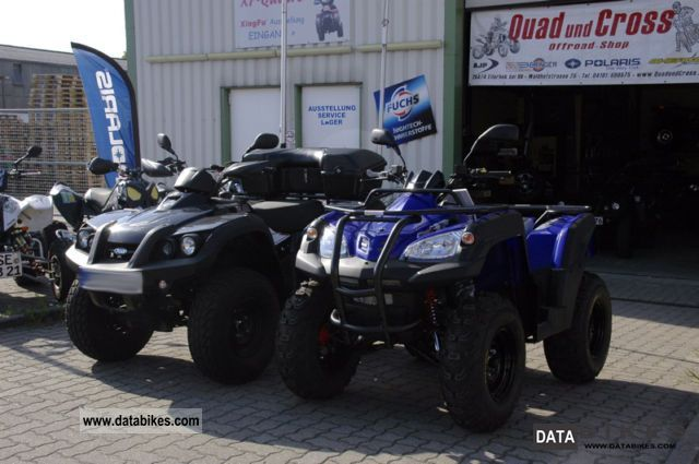2011 Hercules  Adly ATV Canyon 320 12'Räder Motorcycle Quad photo