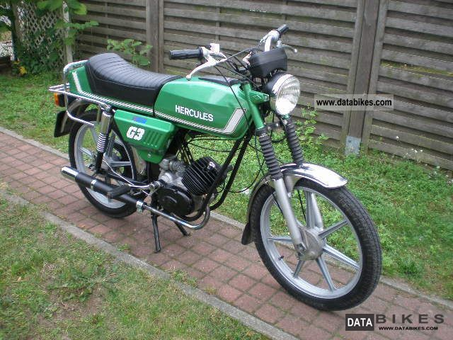1980 Hercules  G3 collector grade Motorcycle Motor-assisted Bicycle/Small Moped photo