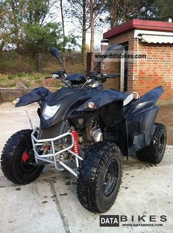 2008 Herkules  Adly 320 S Hurricane Motorcycle Quad photo
