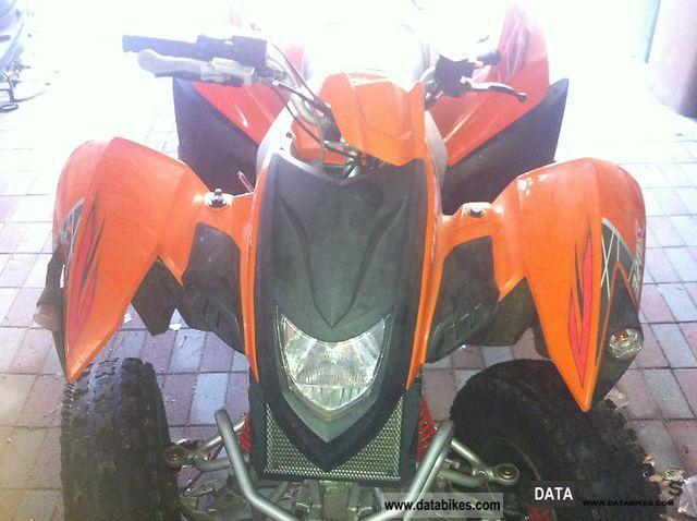 2010 Herkules  Adly Moto Motorcycle Quad photo