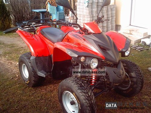 2007 Herkules  Adly Crossroad Motorcycle Quad photo