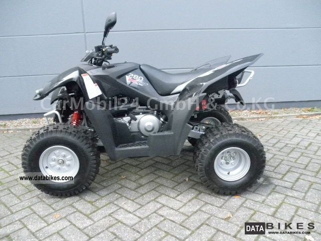 2011 Herkules  AVT 280 Hurricane Motorcycle Quad photo