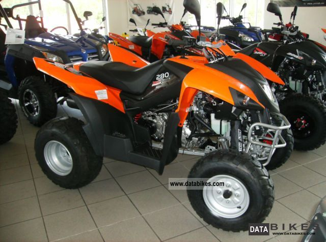 Herkules  HURRICANE 280 17 HP AUTOMATIC 2011 Quad photo