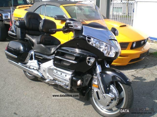 2003 Honda Goldwing Gl 1800 Abs    Dt Navi Model 2 Hand