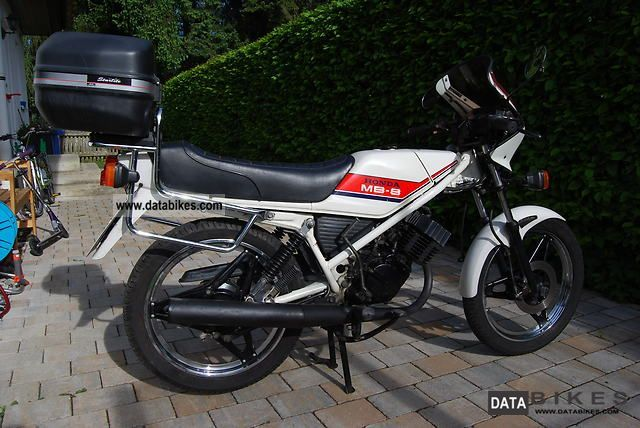 1981 Honda  8 MB Motorcycle Lightweight Motorcycle/Motorbike photo