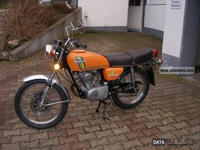 Honda  CB J 125 1970 Vintage, Classic and Old Bikes photo