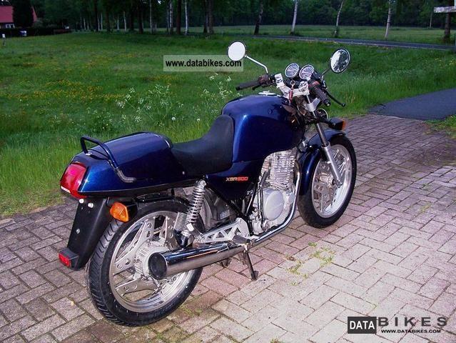 1989 Honda  XBR 500 Motorcycle Motorcycle photo