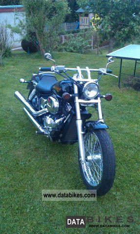 2001 Honda  Black Widow Motorcycle Chopper/Cruiser photo