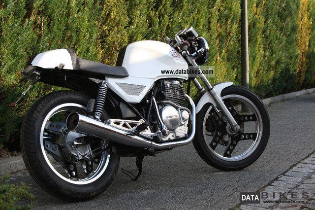 1986 Honda xbr 500 cafe racer conversion