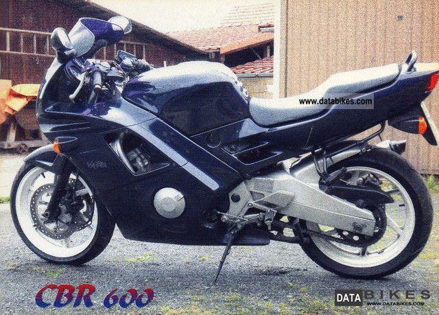 1991 Honda  CBR 600 Motorcycle Motorcycle photo