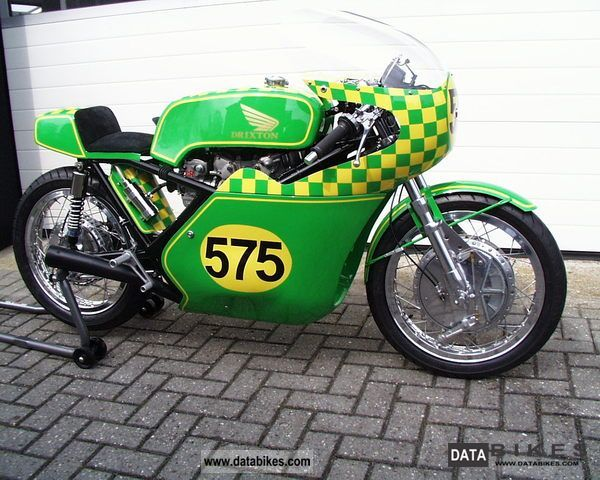 Honda  Drixton 500cc Racer 1969 Vintage, Classic and Old Bikes photo
