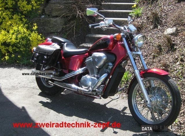 1992 Honda  VT 600 C Shadow Motorcycle Chopper/Cruiser photo