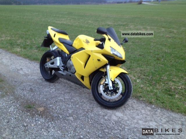 2003 Honda  cbr rr 37 pc Motorcycle Sports/Super Sports Bike photo