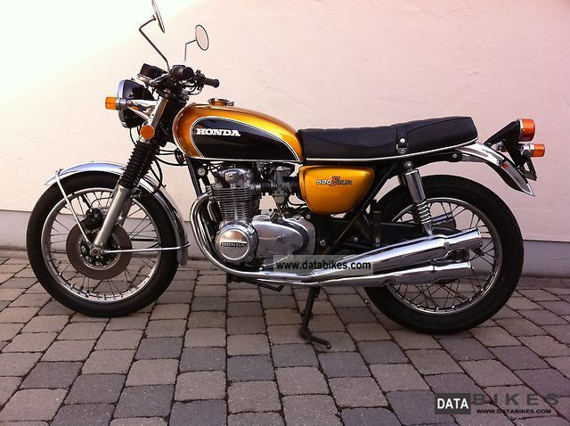 1972 Honda  CB500 Four K1 Motorcycle Motorcycle photo