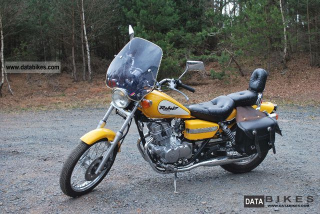 2000 Honda  Rebel 125 Motorcycle Chopper/Cruiser photo