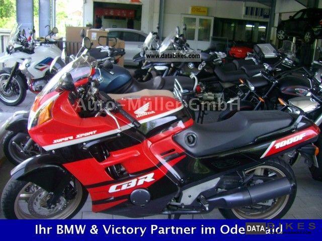 Honda  CBR 1000 F 1991 Motorcycle photo