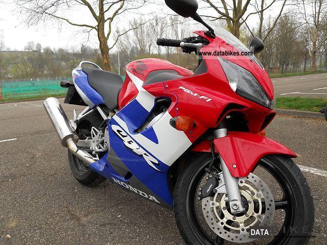 2001 Honda  cbr 600 Motorcycle Sports/Super Sports Bike photo