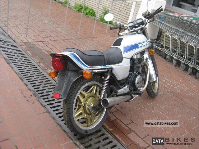 1981 Honda  CB 400 T Motorcycle Motorcycle photo