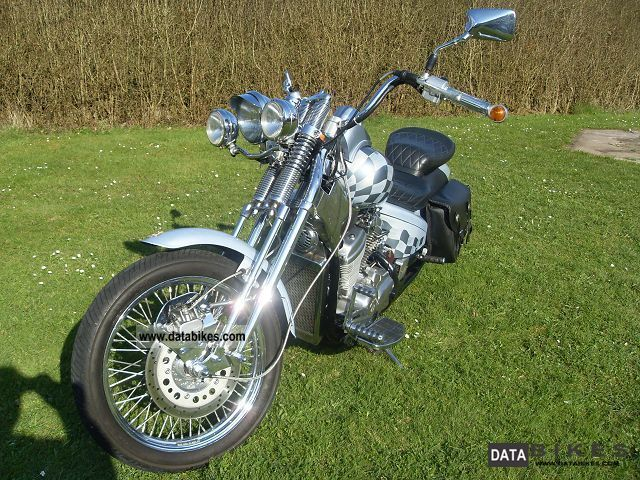 1996 Honda  VT 600 C Shadow Motorcycle Chopper/Cruiser photo