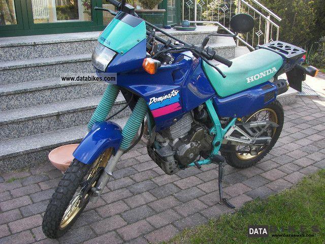 1993 Honda  Dominator Motorcycle Enduro/Touring Enduro photo