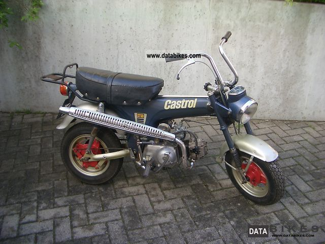Honda  Dax ST50G 1977 Vintage, Classic and Old Bikes photo