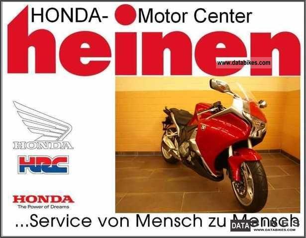 2010 Honda  VFR 1200 F DCT Motorcycle Motorcycle photo