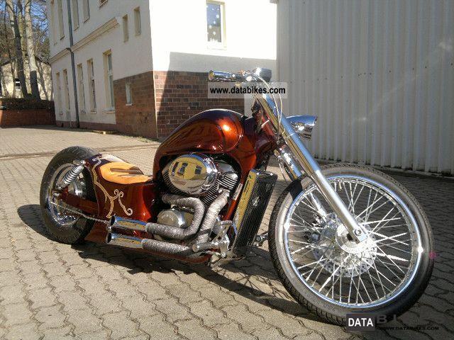 1999 Honda  VT 750 * custom bike show bike * unique * unique * Motorcycle Chopper/Cruiser photo