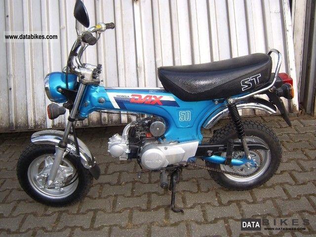 1988 Honda  FTSE ST 50 Motorcycle Lightweight Motorcycle/Motorbike photo