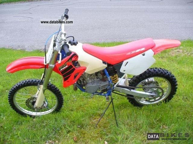 2001 Honda  85 cr Motorcycle Rally/Cross photo