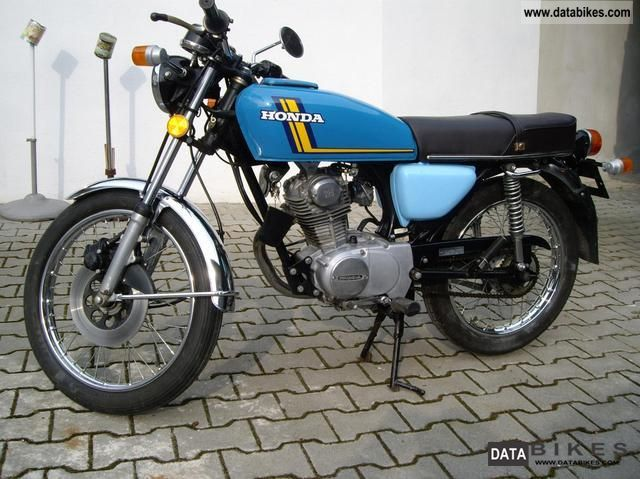 Honda  CB125S classic rarity No. SL, XL 125 1975 Vintage, Classic and Old Bikes photo