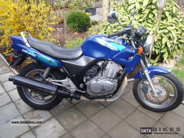 Honda CB 500 500 cm³ 1996 - Tuusniemi - Moottoripyörä