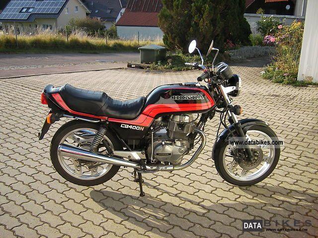 1984 Honda  CB 400 T Motorcycle Motorcycle photo