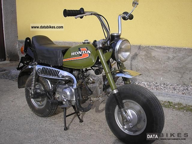 Honda  Monkey Z50J 1975 Vintage, Classic and Old Bikes photo