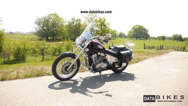 1996 Honda  schadow VT600 Motorcycle Chopper/Cruiser photo