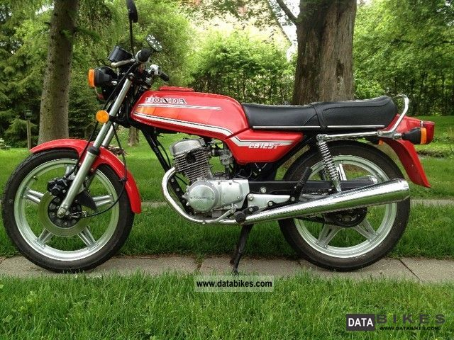1984 Honda  CB 125 T2 Motorcycle Motorcycle photo