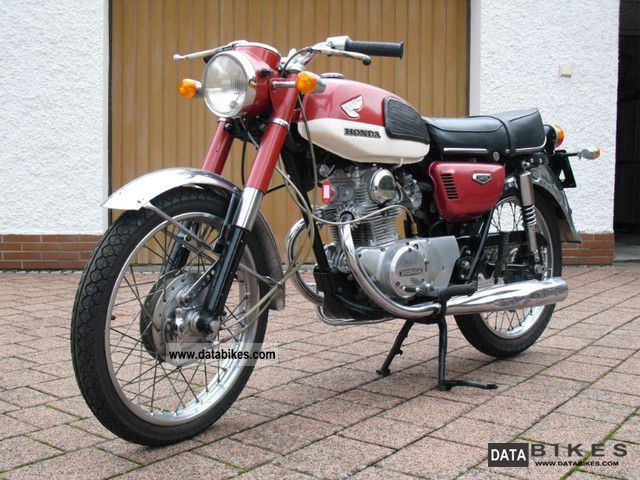 1971 Honda  CB 125 Motorcycle Motorcycle photo