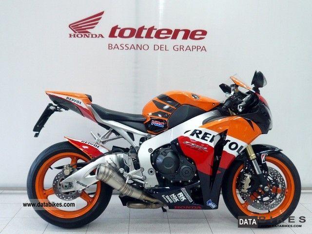 2009 Honda  CBR 1000 RR Motorcycle Sports/Super Sports Bike photo