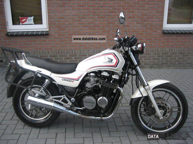 Honda  CBX 650 E NIGHTHAWK 1985 Motorcycle photo