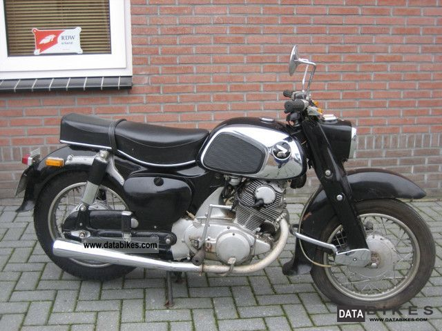 Honda  DREAM C 77, 305 CC, EZ :04-1962 1962 Vintage, Classic and Old Bikes photo