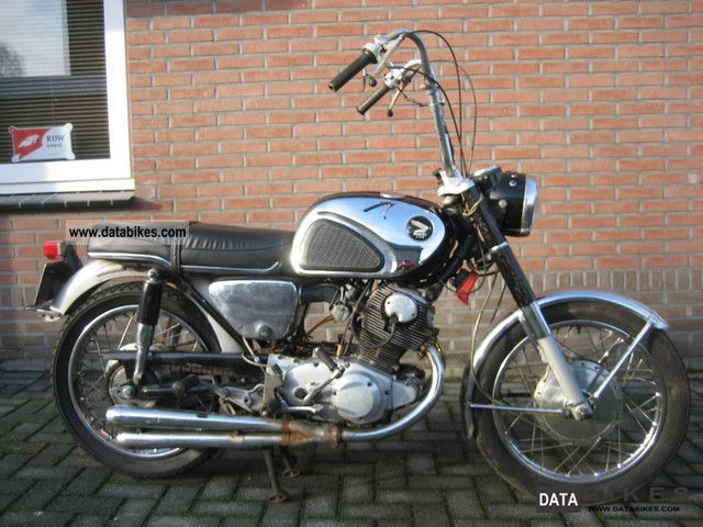 Honda  CB 72 E SUPER SPORT 1966 Vintage, Classic and Old Bikes photo