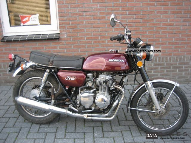 Honda  CB 350 FOUR F 1975 Vintage, Classic and Old Bikes photo