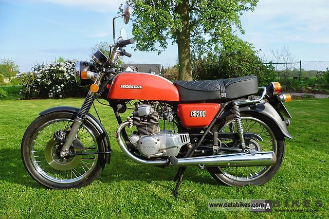 Honda  CB 200 1976 Vintage, Classic and Old Bikes photo