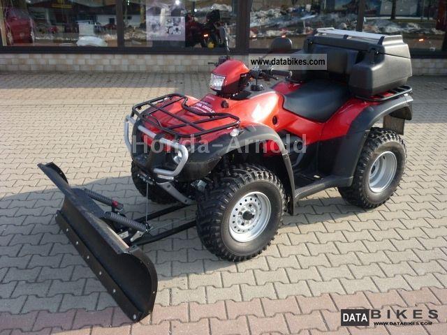 2012 Honda  TRX 500FE * 4x4 RHD + winch + snow shield + Box * Motorcycle Quad photo