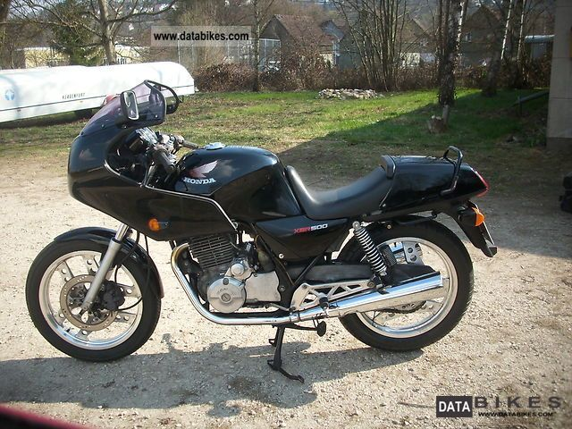 1988 Honda  XBR 500 Motorcycle Motorcycle photo